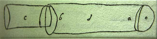 Giovanni Battista della Porta, Biblioteca dell'Accademia dei Lincei, Mss n° 12, c. 326 – Autograph