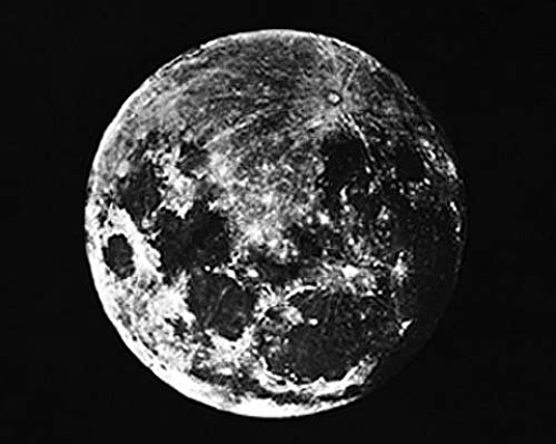 First known photograph of the moon