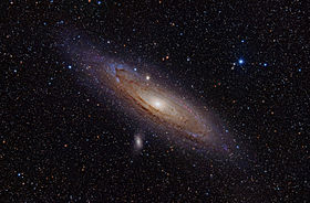 The Andromeda Galaxy, a.k.a. Messier Object 31.